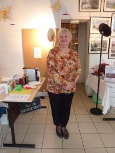 Sylvie Dimet Founder of Espace Arts Lebaudy(c) Discover Paris!