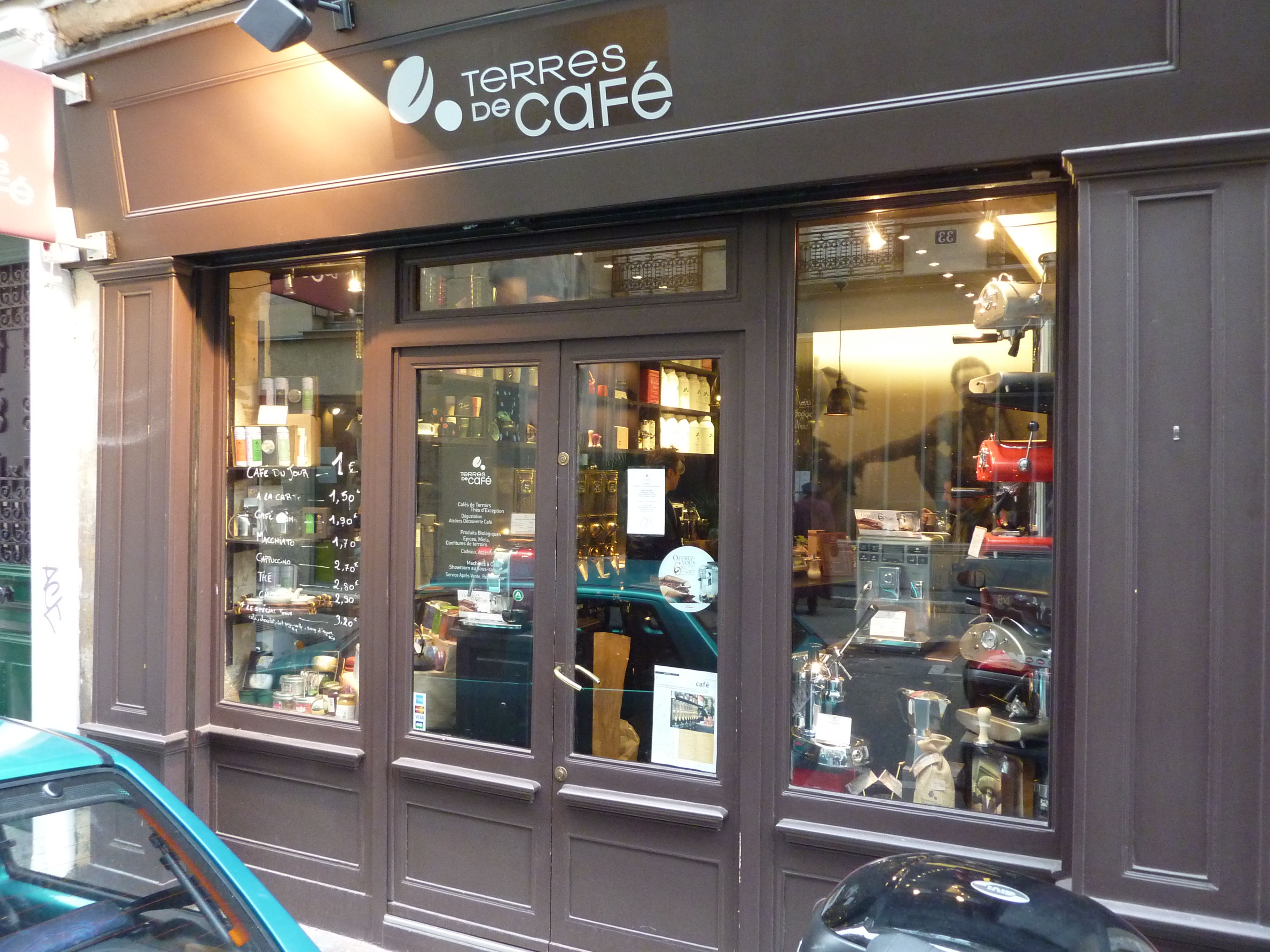 Mélange Parfait Expresso at Terres de Café « Paris Insights – The Blog