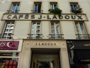 Façade of J. Ladoux