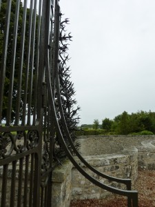 Gate Bristling with Spikes