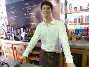 Jérémie - Manager of Comptoirs Richard