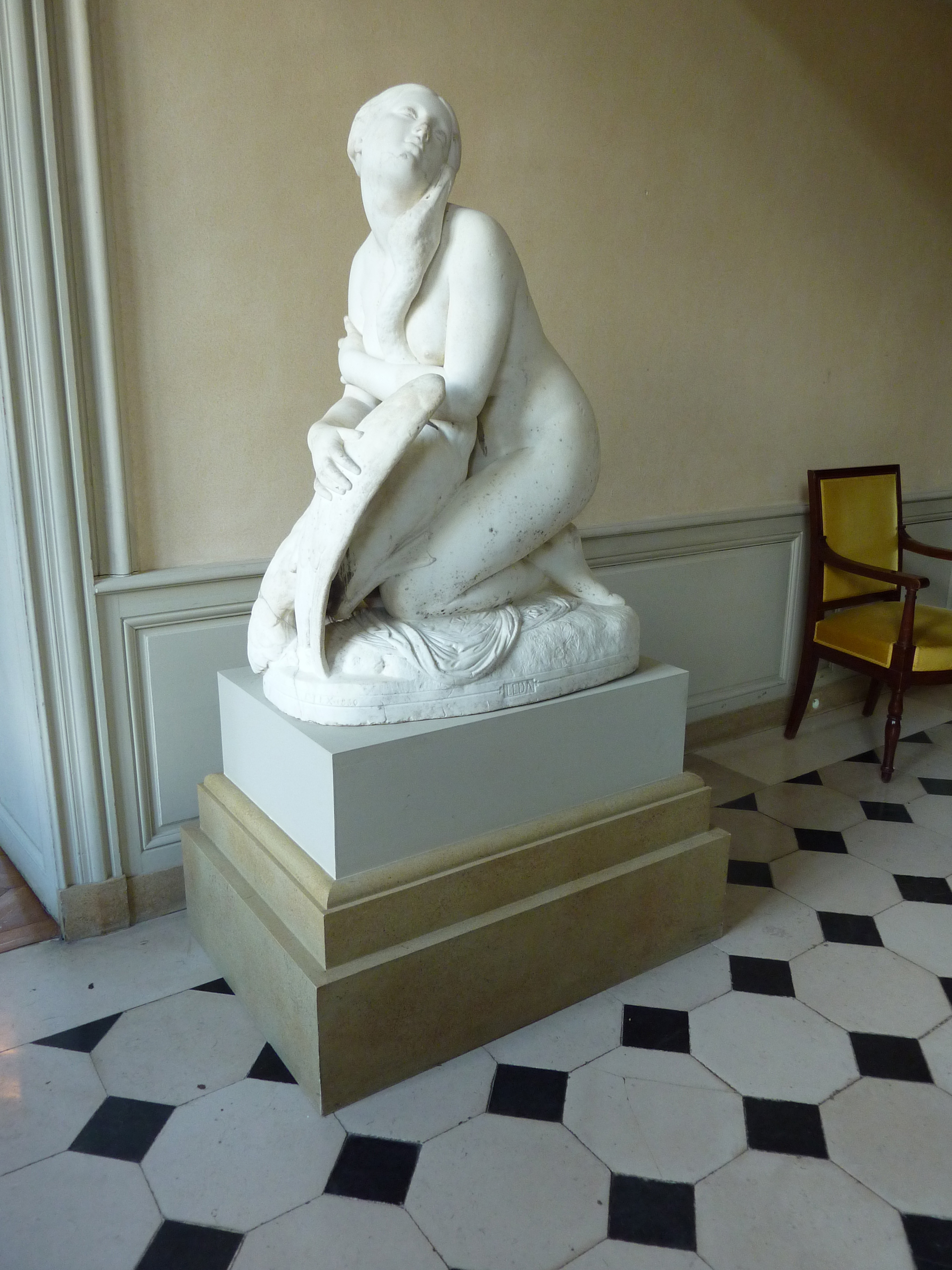 leda and the swan notes Small note: yeats did a number of versions of ronsard sonnets and ronsard also wrote a poem about leda and the swan  maybe it's the reproduction of lustfull.