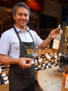 Raymond Pouring Clos Cibonne Cuvée Tendence Rosé 2010
