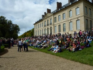 Watching Concert from the Château du Haut
