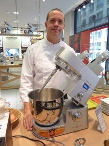 Chef François Rosati with the Kenwood Cooking Chef