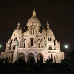Sacré-Coeur in the Evening