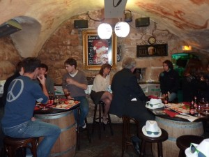 Inside the Cellar