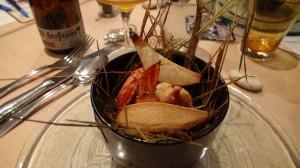 Crevettes Qweli Infusées au Foin et à l'Origan
