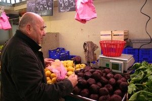 Buying Beets at Chez Colette