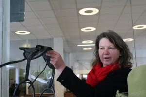 Gina and Ultralight Saddle