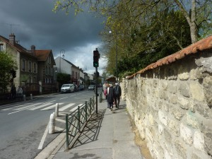 Main Street of Auvers-sur-Oise