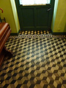 Tesselated Pattern of Floor Tiles