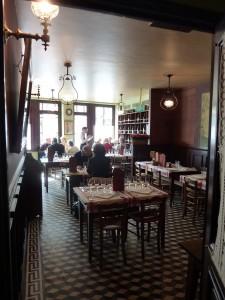 View of Auberge Ravaux Restaurant from Back Door