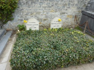 Vincent and Théodore's Graves