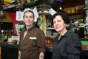 Xavier Chocq, Chef and Claire Bouchilloux, Proprietor