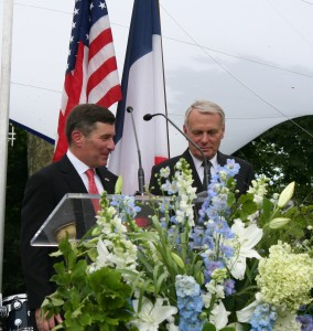 Ambassador Rivkin and Prime Minister Ayrault