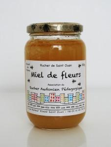 Rucher de Saint-Ouen - Miel de Fleurs