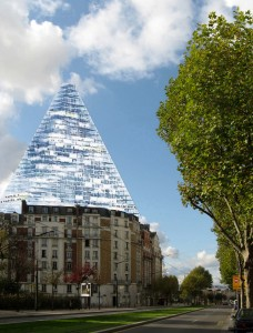 Photomontage Tour Triangle by Bernard Gazet