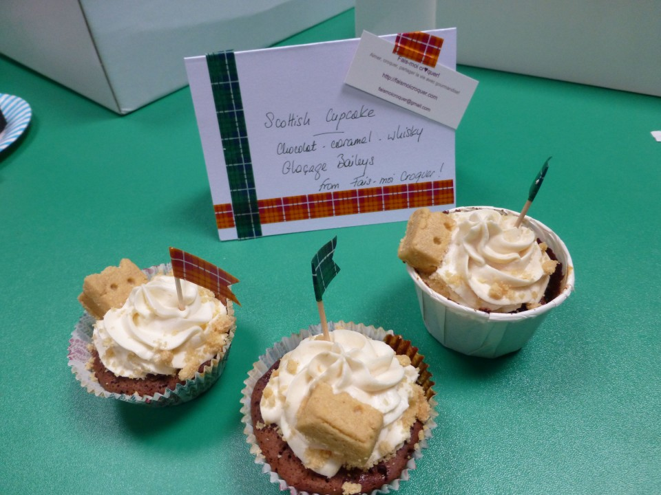 Scottish Cupcakes - Judged Best Cupcake