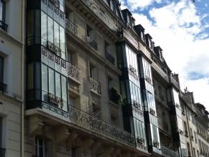 Bay Windows on Rue Descartes