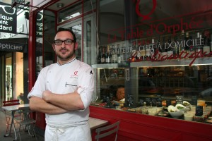 Alexix Chavance, Chef of La Table d'Orphée