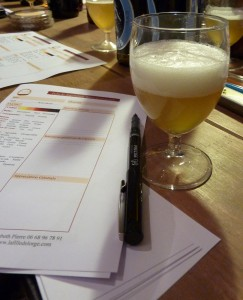 Beer-tasting Notes and Frothy Head of Beer