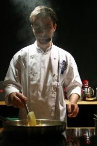 Pascal Aussignac Cooking Foie Gras