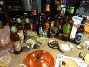 The Beers That We Tasted