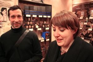Christophe Potel and Marie-Hélène Gantois