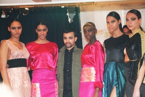 Fahaid Sanober and His Models