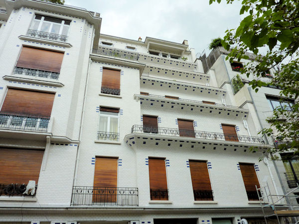 Henri Sauvage's Stepped-terrace Building on Rue Vavin