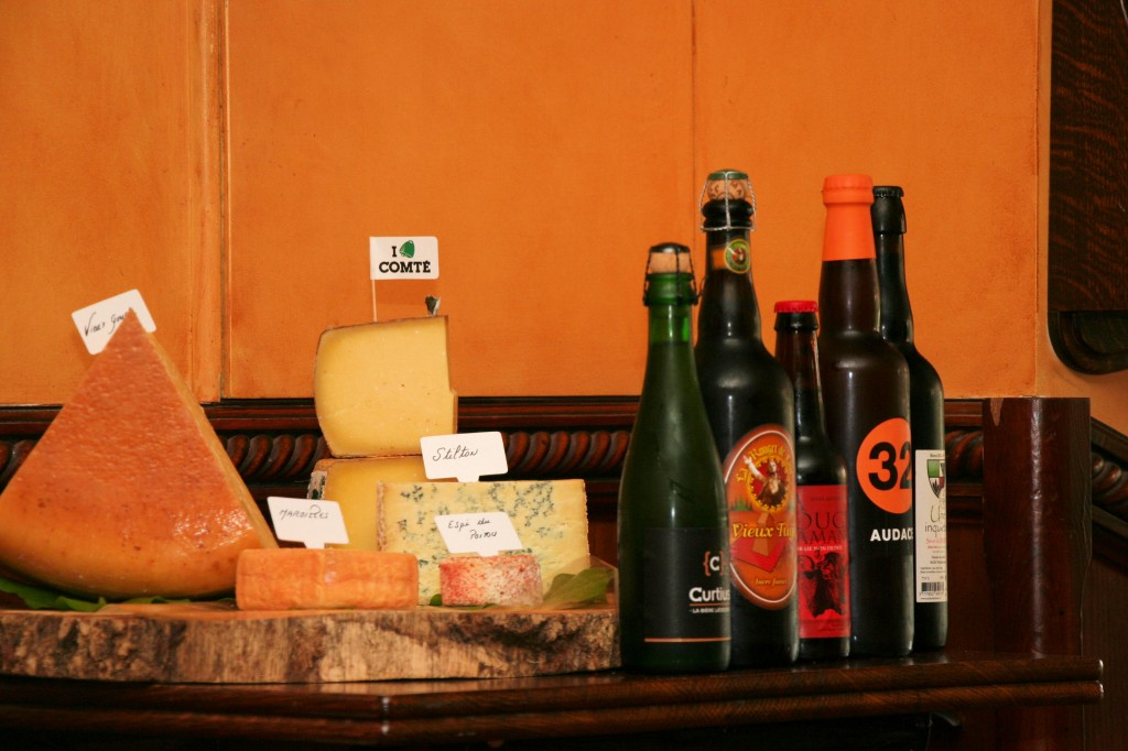 Cheeses and Beers