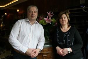 Oleg Kononov and Irina Kononova