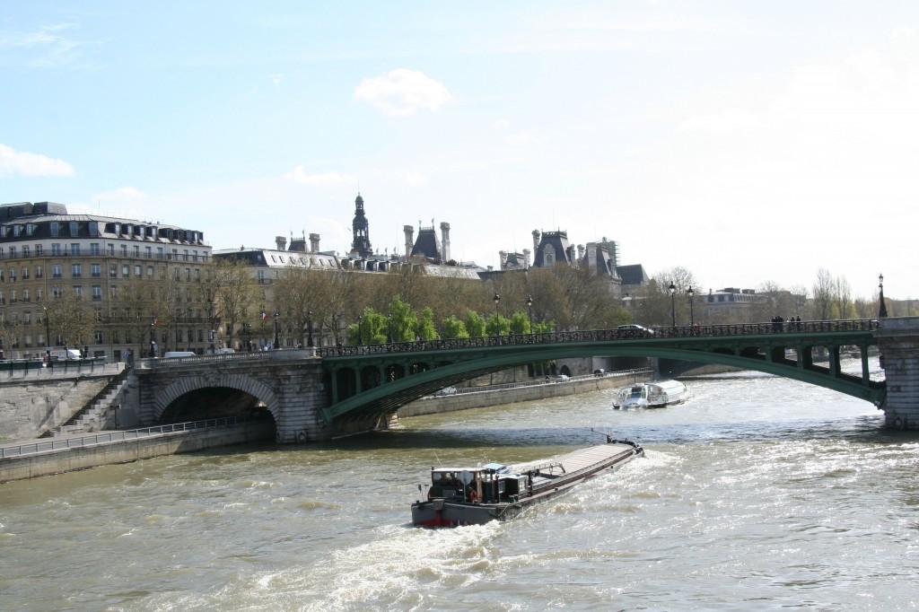 View of Seine from Pont Saint-Michel