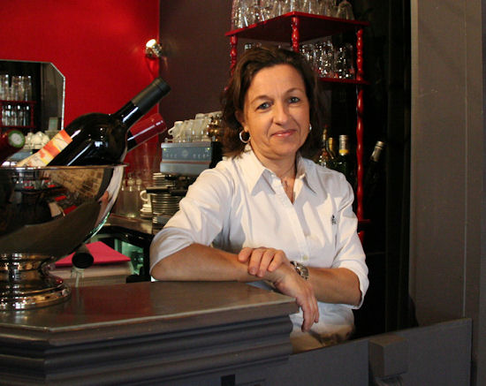 Isabelle Bedjidian, Owner and Chef of Le Resto