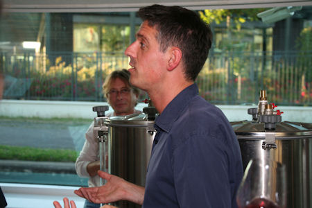 Fabrice Explains the Fine Points of Wine Production