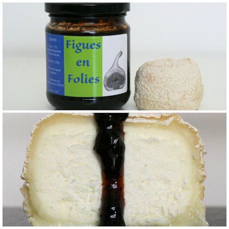Figues en Folies with Goat Cheese