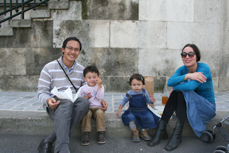The Huynh Family Enjoying the Day