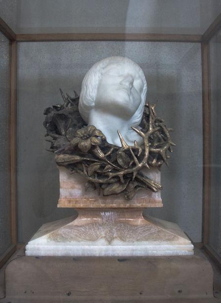 Tête-reliquaire de Jeanne d'Arc
