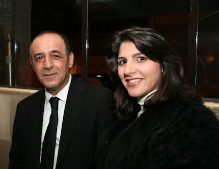 Marios Lyssiotis - Ambassador of Cyprus to France - Anna Papasawa - Consul