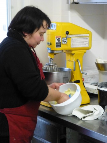 Madame Blot Preparing Ganache