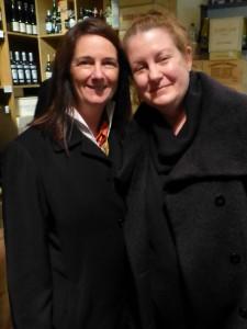 Priscilla Pilon and Kathryn Reichart