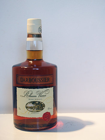 Darboussier Rum <i>hors d'ages</i>