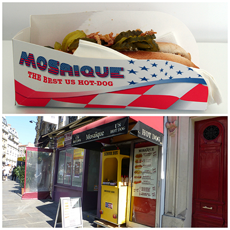 Mosaïque US Hot Dog