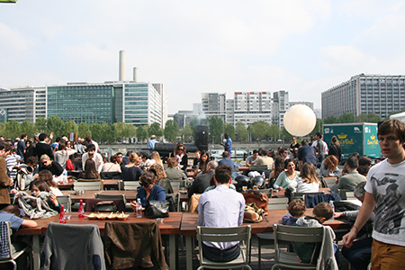 People Feasting at the Street Food Festival