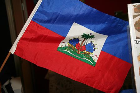 Haïtian flag 450w