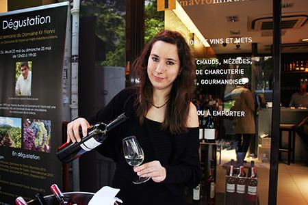 Eugenia Stefanidi - Sommelier at Mavrommatis
