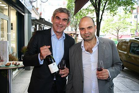 Stellios Boutaris and Dionysos Mavrommatis