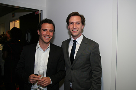 Victor Bardon of Bouygues and Reinier Van Wingerden of CitizenM