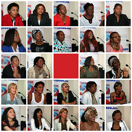 Women Entrepreneurs Who Participated at the Press Conference